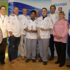 West College Scotland take the title at UK Young Seafood Chef competition 2018