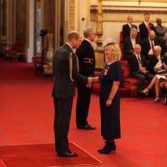 Mrs Gillian Alton from Belton is made an OBE