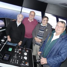 Former Nautical College students reunite for tour of new cadet facilities