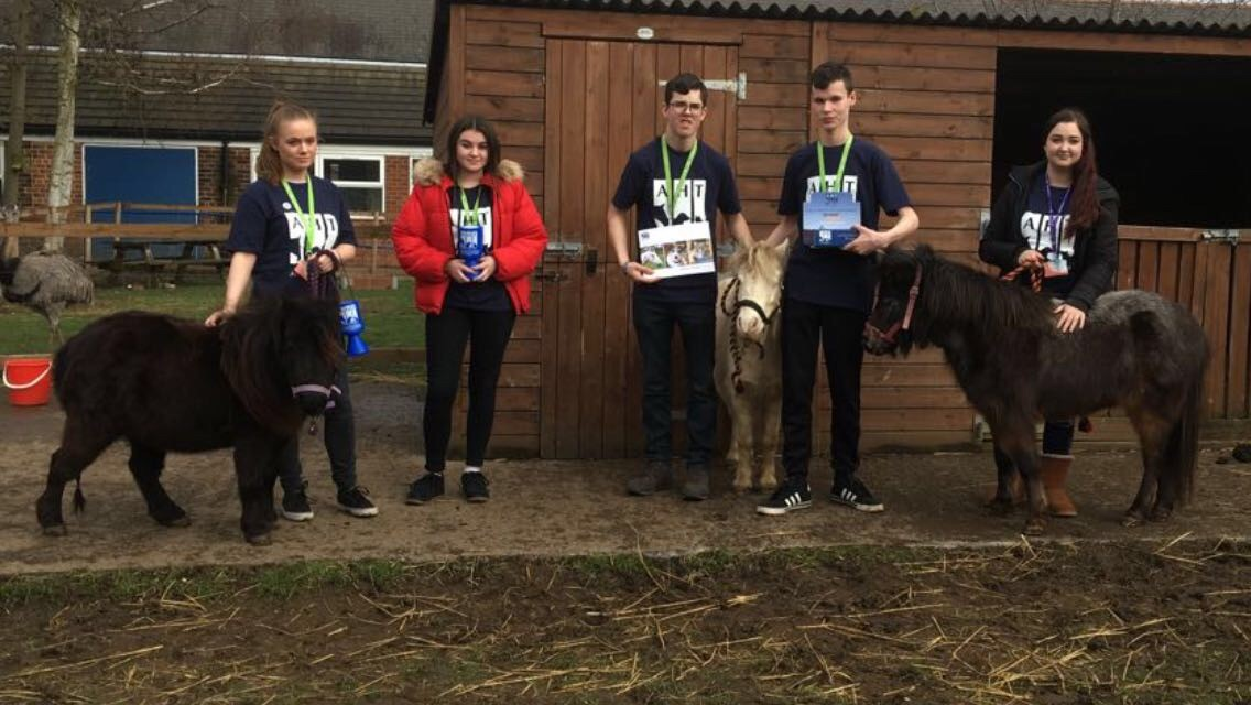 Animal Care learners support charity at The Lincolnshire Show