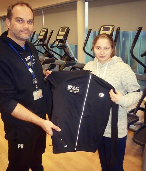 Kit handover for WorldSkills competitor Alysia